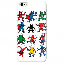 Cover Keith Haring Superheroes